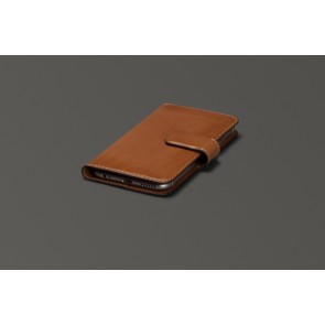 Sena iPhone 6 Plus Burnished Magia Wallet - Tan