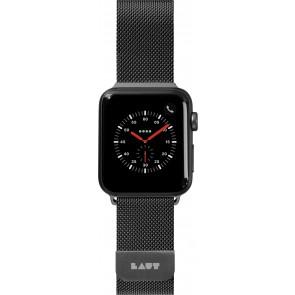 Laut STEEL LOOP For Apple Watch Series 1-6/SE Black (42/44mm)