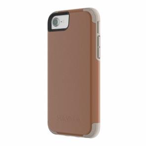 Griffin Survivor Prime - Brown Leather - iPhone 8/7/6/6S