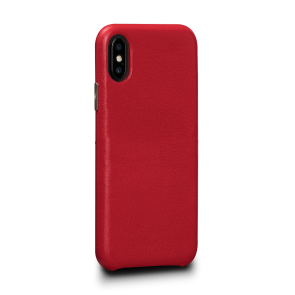 Sena Kyla iPhone Xs Max LeatherSkin Red