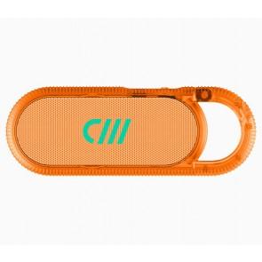 Candywirez Wireless Carabiner Speaker - Neon Orange