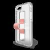 BodyGuardz SlideVue Case for iPhone X/Xs - Clear/Pink